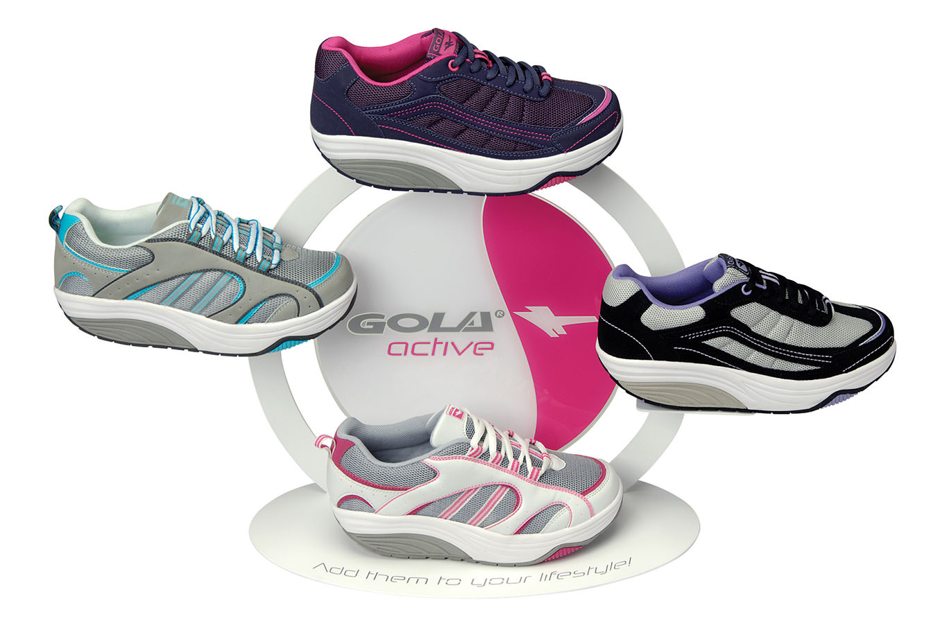 Gola - Toning trainer display for Gola